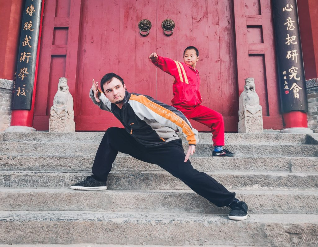 Training shaolin kung fu in china