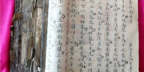 Xinyiba & Liuhequan manuscripts written by Wang Zhicheng